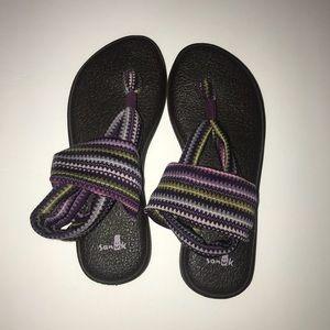 Sanuk Women's yoga  sling back sandal